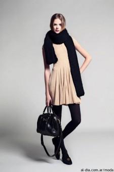 vestido-chocolate-ropa-otoño-invierno-2013