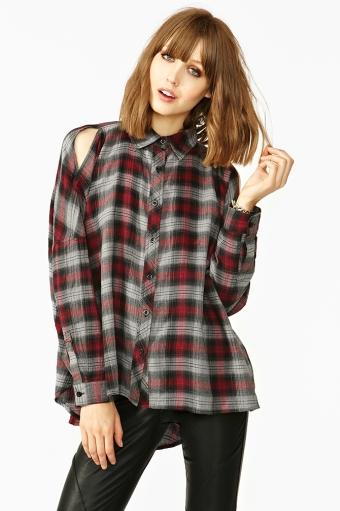 Nasty-Gal-Plaid-Shirt