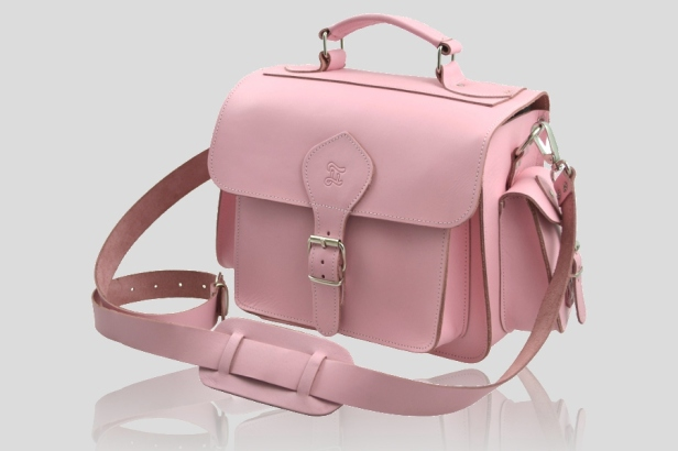 Pink_Leather_Camera_Bag_side