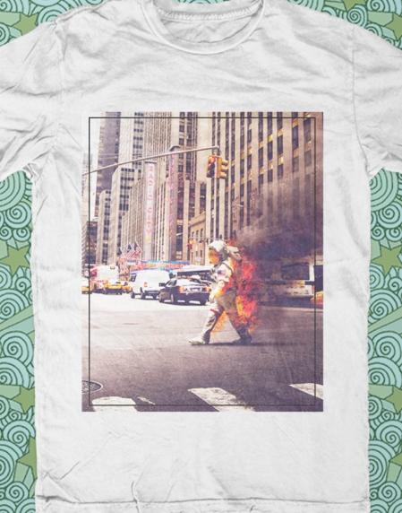 astronauta- Teeshirt